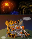 Very late 4th of July (TFRB:Bee+Blades) by Tone-chan