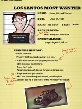 Los Santos Most Wanted - MICHAEL by MrNinja3322