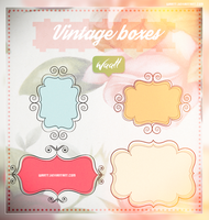 Vintage Boxes  [PNG] by Waatt