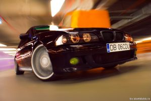 BMW e39 Rolling by Carnacior