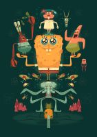 SPONGEBOB by jamesgilleard