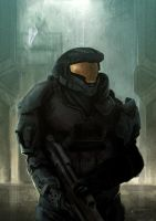 Halo Reach by wasted-rebel