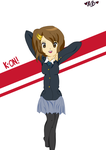 K-On: Yui by TheElementOfMagic