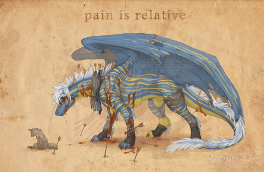 Pain is relative by Bluehasia