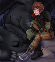 Evening Rest - HTTYD2 by RenonVesir