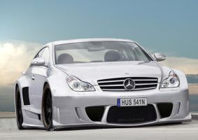 Mercedes CLS AMG DTM by hussain1