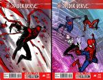 Spider-verse thumbnail sketches by JoeyVazquez