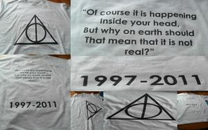 Deathly Hallows t-shirt by SCTankian