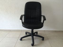 Black Office Chair 05 free stock by DavidSerret