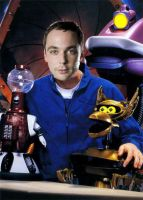 Sheldon Cooper joins MST3K by QuantumInnovator