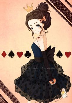 Queen of Hearts by cartoongirl7