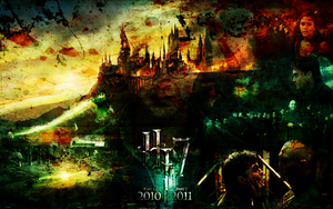 Hogwarts At War D.H. by suicidebyinsecticide
