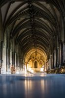 Inside the Cathedral, Norwich by danjufo-photography