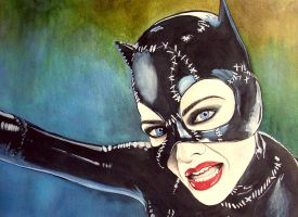 Catwoman - Hear me roar by AirelavArt