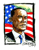 President Obama by hoganvibe