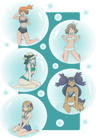 [REQUEST] Bubbly Pokegirls by Call-Of-The-Indie