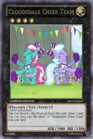 Cloudsdale Cheer Team (MLP): Yu-Gi-Oh! Card by PopPixieRex