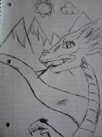 Quick Draw I - Dragon by Cheslyn