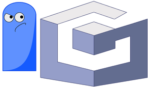 Bloo and Gamecube Logo by domobfdi