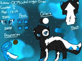 NightOreo ref. sheet by OC79