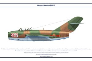 MiG-15 China 6 by WS-Clave