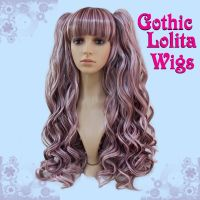 Blended Choco-Pink Lolita Wig by GothicLolitaWigs