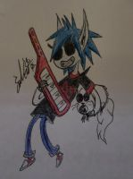 2-D As Marshall Lee by CoyChimera