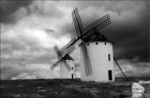 The castles of Don Quixote by Sanviek