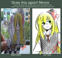 Draw Again Meme by fourseasons001