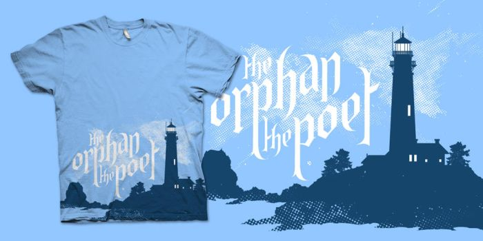 The Orphan The Poet Lighthouse by anerionxi