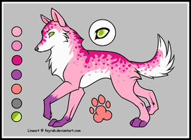 wolf adoptable :OPEN: by WolfxTracks