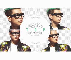 Pack png render:  T.O.P | BIG BANG #01 by VipArmy