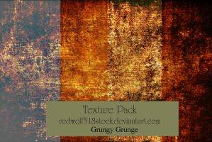 Grungy Grunge Texture Stock Pack by redwolf518stock