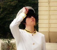 +Cosplay+ Kiku Honda from Axis Power Hetalia by Albablue