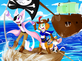 [Comm] Sailing the Seas by Void-Shark