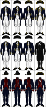 Uniforms of the United States Navy, 1800-1808 by CdreJohnPaulJones