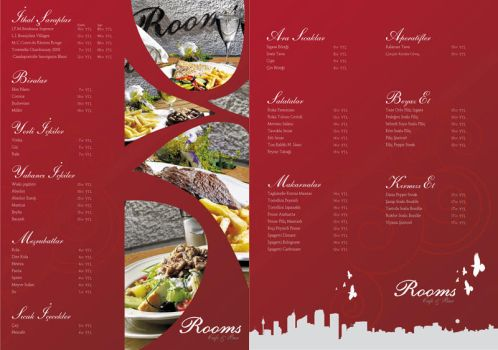 Rooms Menu by life4rent
