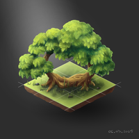 Trees-isometric by CatrinS