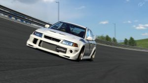 Mitsubishi Evolution VI -  High Speed Ring by DjCaDiR