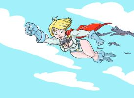 Power girl pocket by shadowisp