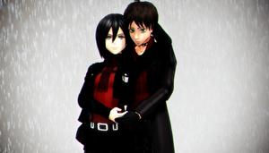 :MMD: Red and Black by RockfanXYuki