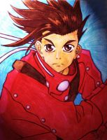 tales of symphonia lloyd irving by HugAttack4JesusXD