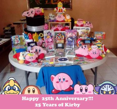 Kirby 25 Anniversary Collecction by Kirbmaster