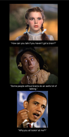 Brainless Obama by IAmTheUnison