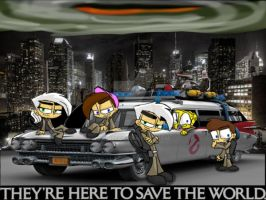Nicktoon Ghostbusters by PL125