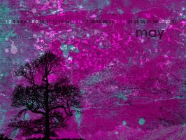 Grunge Tree with cal - May by aaron4evr