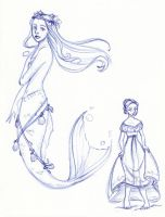 Disney Un-Disneyed: The Little Mermaid (Update) by kuabci