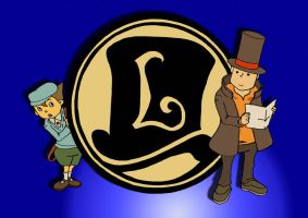 Layton e Luke by simsim2212