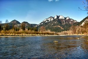 Dunajec river by minko2312