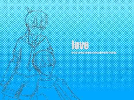 Kaito x Len is LOVE~ Sketch version by sapiboong